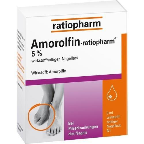 AMOROLFIN-ratiopharm 5% wirkstoffhalt.Nagellack 3 ml