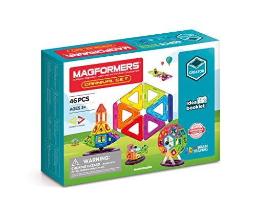Magformers 703001 Carnival Set 46 teilig, bunt