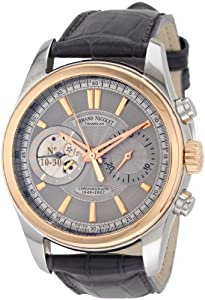 Armand Nicolet Men's 8649A-GL-P964GR2 L07 Limited Edition Classic Two-Toned Hand Wind Watch image