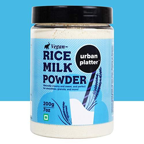 Urban Platter Vegan Rice Milk Powder 200G / 7Oz [Creamy and Sweet Dairy-Free Milk Alternative]