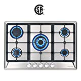 30' Built-in Gas Cooktop,...