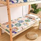 GAYBJ Tatami Faltbodenmatratze Doppelte Einzelbodenmatratze Japanisch Studentenwohnheim-Faltmatratze Studentenwohnheim Single Erwachsene Matratzen,D,90 x 200cm