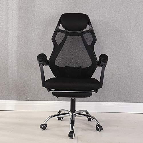 PRO Gaming bureaustoel - Ademende Ergonomische bureaustoel met - Esport stoel voor ultieme game-ervaring stijlnaam size Blackstyle2