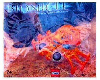Lego Bionicle 1441 Fikou (Bagged) by Lego (manual en inglés)