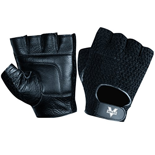 Valeo Mesh Back Lifting Gloves, Net Training...