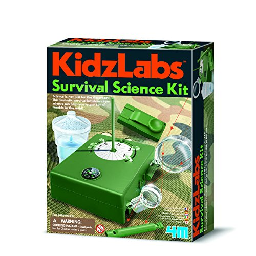 4M 00-03395 KidzLabs - Survival Wissenschaft Spielzeug, Bunt