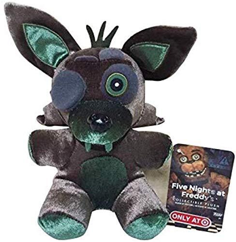 Siamrose Juguete de peluche 18 cm Fnaf Cinco Noches en Freddy S 4 Pesadilla Foxy Fox Peluche Juguetes de peluche de juguete suave Muñeca Regalos para niños LTLNB