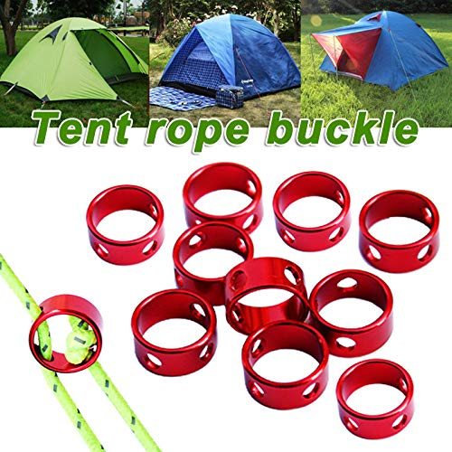 Wodeni Tent Wind Rope Round Regulate Buckle Fixing Ring Accessories voor camping Cord Outdoor