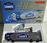 2003 Jimmie Johnson #48 Lowes Action Racing Collectibles 1/64 Scale Hauler Trailer Semi Rig Transporter Truck All Metal Diecast Only 2952 Made