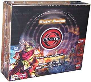 Chaotic Card Game Booster Box Silent Sands – 24 packs of 9 cards