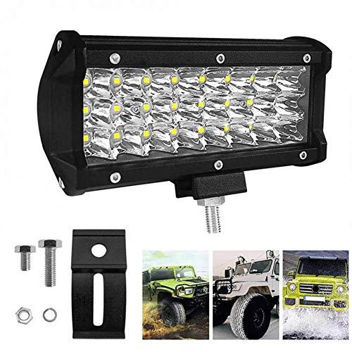 FDSEK 72 Watt led arbeitslicht 3 Reihe led Streifen licht Motorrad licht Auto arbeitslicht geändert Offroad Lichter (1 STÜCKE)