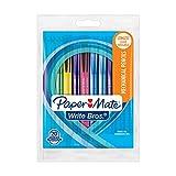Paper Mate Write Bros Mechanical Pencils, 0.7mm, HB #2, Colorful Barrels, Box of 12