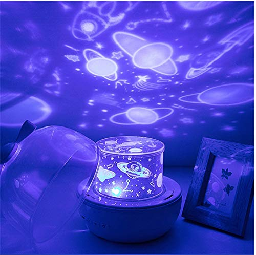Led Night Light Planet Magic Projector Earth Universe Led Light Colorful Rotating Flashing Stars Starry Sky Children Kids Christmas Gifts