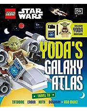 LEGO STAR WARS YODAS GALAXY ATLAS HC W MINIFIGURE