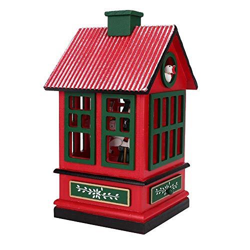 Wifehelper carrousel muziekdoos, kerst decoratie benodigdheden Circus carrousel Merry-Go-ronde paard muziek doos Kids kamer decoratie cadeau ornamenten voor kinderen kinderen