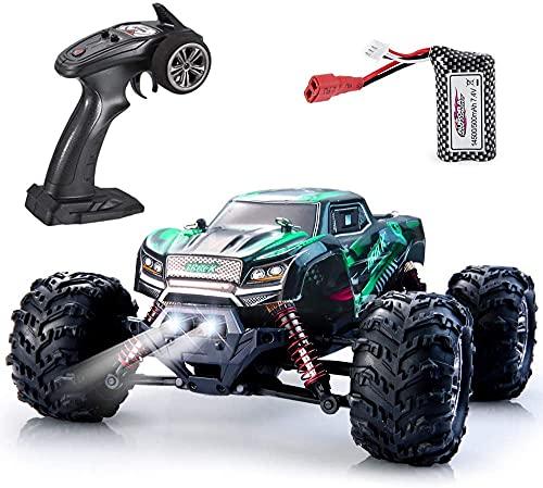 VATOS Ferngesteuertes Auto 4WD RC Auto 26 km/h Hochgeschwindigkeits 1:20 RC Monster Truck 2,4 GHz Rennwagen RC Crawler All Terrains Offroad Elektro Spielzeug für Kinder und Erwachsene