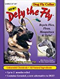 Defy The Fly Dog Collar 21' to 24' Size Large