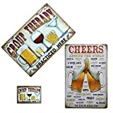 Cocktail Party Eisen Poster Metallmalerei Blechschild