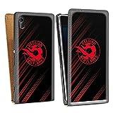 Étui Compatible avec Sony Xperia Z1 Étui à Rabat Étui magnétique Diables Rouges Produit sous...
