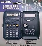 Calculatrice Casio SCR 100–convertisseur monnaie–Horloge Réveil Alarme personnel