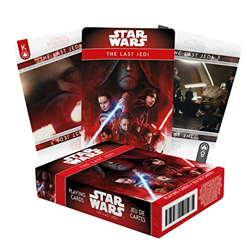 Star Wars (スター・ウォーズ ) The Last Jedi 最後のジェダイ Playing Card (トランプ) [並行輸入品]