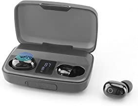 Mvgges Wireless Earbuds in-Ear Touch Control Bluetooth Headphones, Built-in Dual Mics Deep Bass Sound, USB-TypeC Charging ...