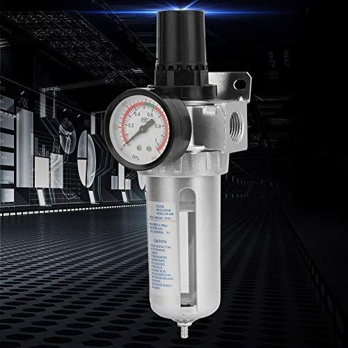 """Wolfgo Filtro Regulador-BSP 1/2\"""" Compresor de Aire Trampa Regulador Filtro de la Humedad del Agua con el Montaje de conexión"""