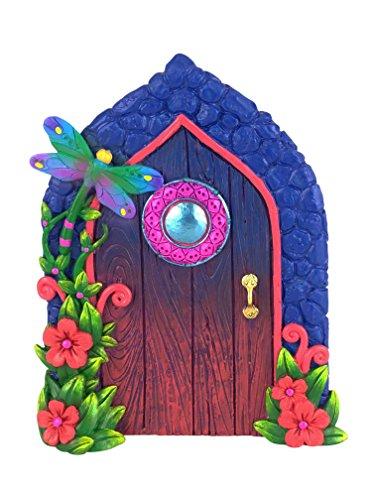 Puerta de Libélula en Miniatura para Jardín Encantado de Hadas y Gnomos en Miniatura....