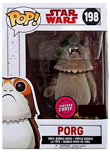 Funko Pop! Star Wars The Last Jedi Porg #198 (Flocked Chase