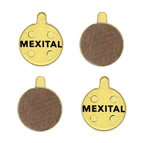 MEXITAL 2 Pares Pastillas Freno Disco sinterizado para Zoom DB 280 350 450 550 650 Artek Shockwave Alhonga SNG X Rated