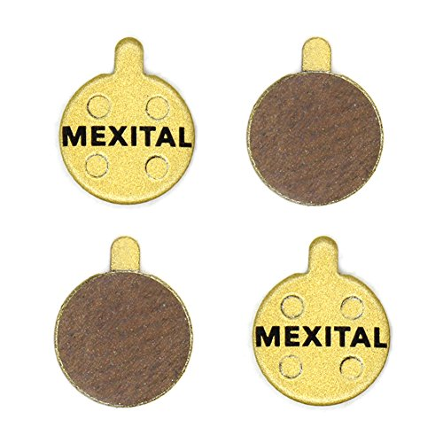 MEXITAL 2 Pares Pastillas Freno Disco sinterizado para Zoom DB 280 350 450 550 650 Artek Shockwave Alhonga SNG X Rated