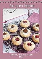Ein Jahr Kekse (Tischkalender 2022 DIN A5 hoch): Leckere Kekse fuer das ganze Jahr (Monatskalender, 14 Seiten )