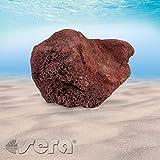Sera 32357 Rock Red Lava L (Pezzi da 16 a 23 cm) Pietra lavica o vulcanica – Pietra Naturale per Acquario
