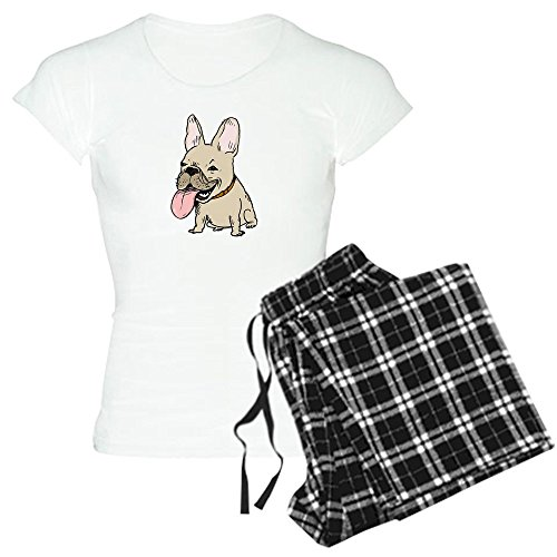 CafePress Frenchie Womens Novelty Cotton Pajama Set, Comfortable PJ Sleepwear