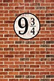 1art1 Ziegelstein-Mauern - Gleis Neundreiviertel XXL Poster