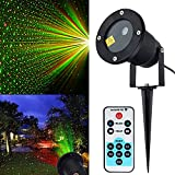Christmas Laser Lights, Starry Lights Red Green Outdoor Garden Christmas Holiday Party Halloween