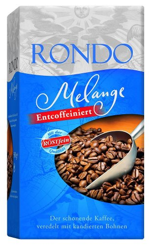 Röstfein Rondo Melange Entcoffeiniert, gemahlen, 3er Pack (3 x 500 g Packung)