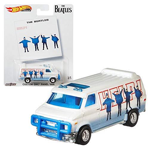 Hot Wheels Pop Culture The Beatles Premium Auto Set | Cars Mattel DLB45, Fahrzeug:Custom GMC® Panel Van