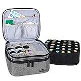 Luxja Caja para Aceite Esencial Organizador para Aceite Perfumado y Accesorios (para 30 Botellas,...