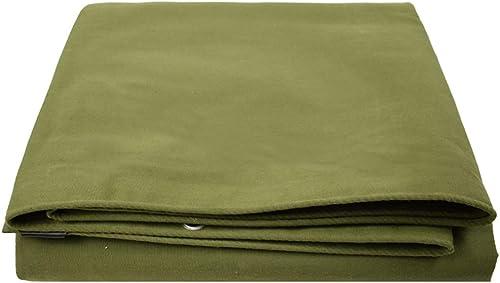 TAO La bache imperméable Polyvalente de Camping Comprend Une Housse de Prougeection Contre la Pluie Contre Les Oeillets pour Les Meubles de Jardin (Taille   5x5m)