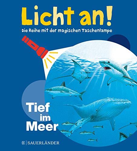 Tief im Meer: Licht an! (Licht an! Die Reihe mit der magischen Taschenlampe, Band 2)