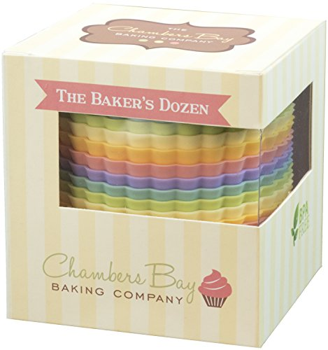 Chambers Bay Baking Silicone Baking Cups Liner