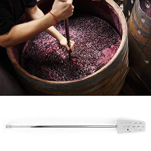 wosume Bierrührer, Haushalt 304 Edelstahl Biermischer Weinmischrührer Home Brewing Equipment