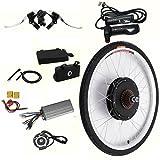 Kit de conversion de vélo électrique 26' pour roue arrière 48 V 1000 W
