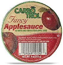 Carbotrol #10 Juice Packed Canned Fruit, Applesauce (1 - 104oz Can)