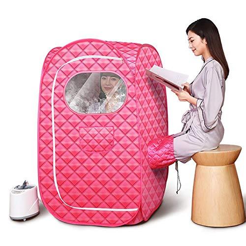 ZDYLM-Y Zuhause Dampfsauna, 1000W Portables Dampfbad, Home Sauna Dampfsauna Dampfmaschine, 2L-Dampfsauna-Zelt mit Fernbedienung