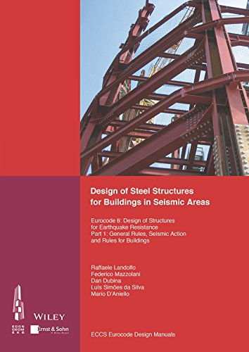 Design of Steel Structures for Buildings in Seismic Areas: Eurocode 8: Design of Structures for Earthquake Resistance. P