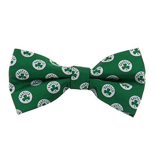 Boston Celtics NBA Repeated Logo Bow Tie - Basketball Team Logo