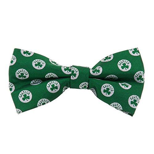 Boston Celtics NBA Repeated Logo Bow Tie - Basketball Team Logo