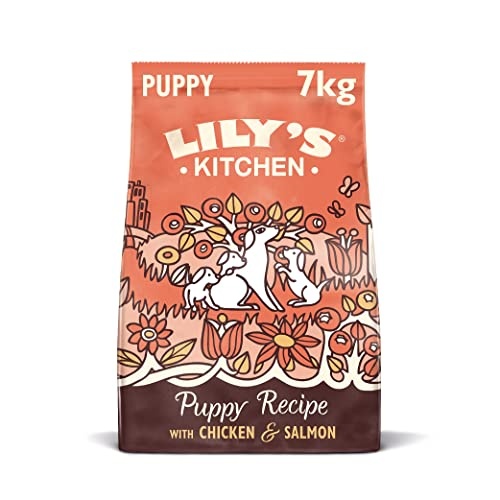 Lily's_Kitchen Puppy Recipe Chicken & Salmon Natural Grain Free Complete Dry Dog Food (7 kg)